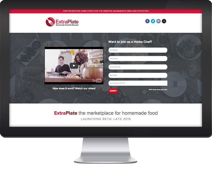 Extra Plate Sacramento Wordpress Website