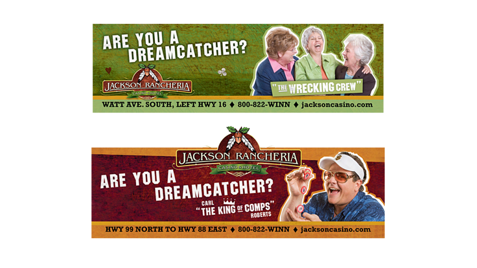 Jackson Rancheria Outdoor Billboard Design