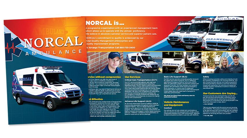 Norcal Sacramento Brochure Design