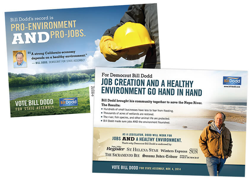 Political Direct Mail Design