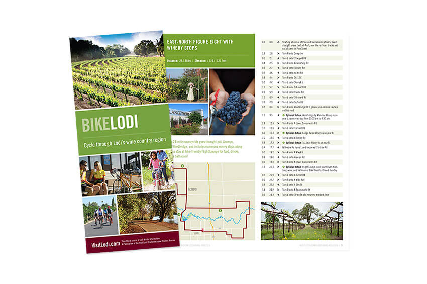 Bike Lodi Brochure Design